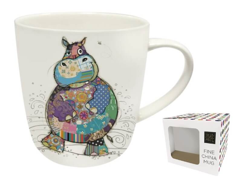 BUG ART Hrnek porcelánový 450 ml, Harry Hippo