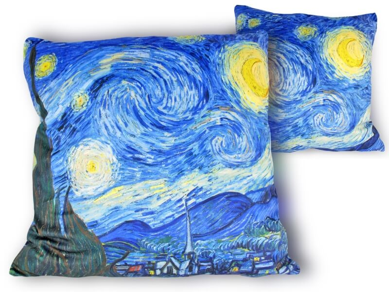 Polštář s náplní 45x45 cm Vincent van Gogh The Starry Night, CARMANI, 0211703