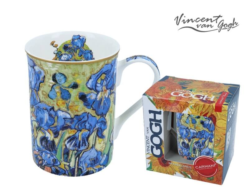 Hrnek 420  ml Vincent van Gogh Irisy, CARMANI 8302305