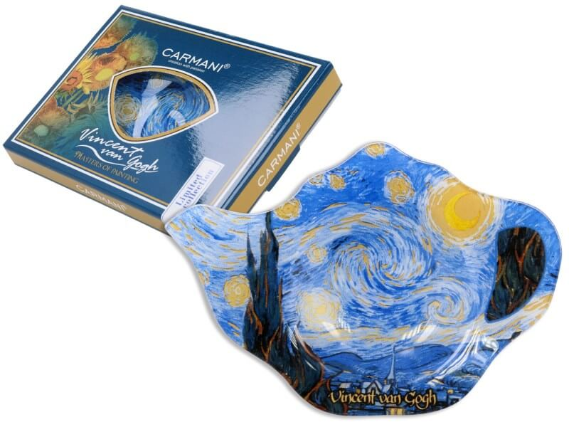 Podložka pod čajový sáček Vincent van Gogh The Starry Night, CARMANI