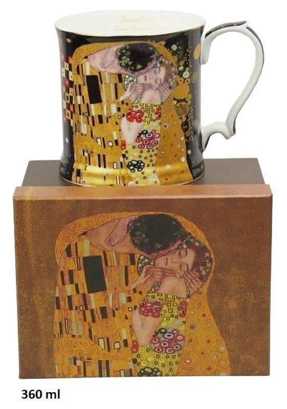 Hrnek 360 ml Gustav Klimt Kiss The Kiss, Queen Isabell, 09141