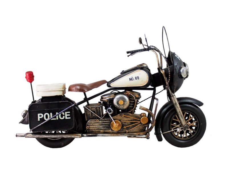 Motorka replika POLICE 36 x 15 x 23 cm MR1